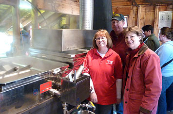 Senator Shaheen visits the Sugar House