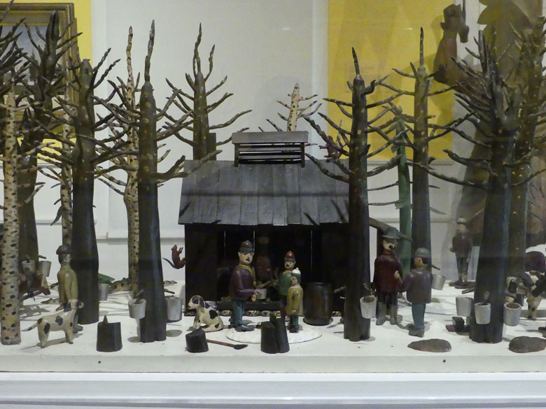 Folk Art Sugar Camp, Shelburne Museum VT